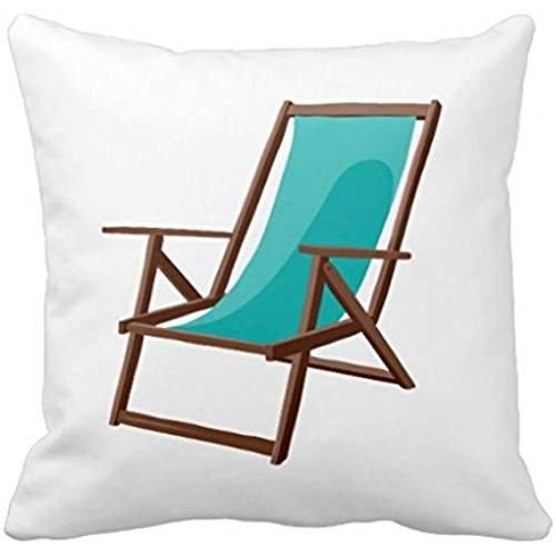 Teal Fabric Beach Chair Png R4f17f212a9944d19808c6f0b95b4ca06 I5fqz 8byvr Pillow Case