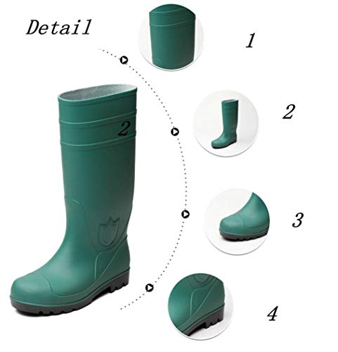 Green George Yellow Rainboots Halloween Cosplay Costumes for Adult Kids by Costume Party Heart (Image #2)