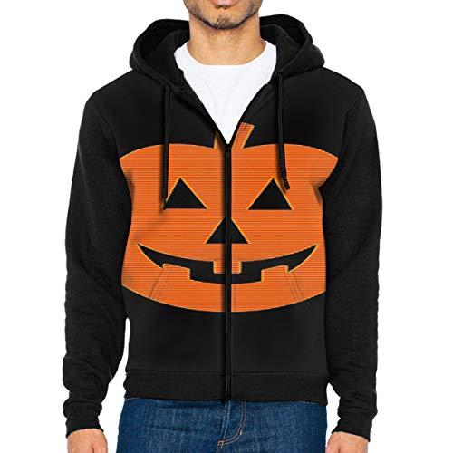 Men's Hooded Sweatshirt Halloween Sweater S -