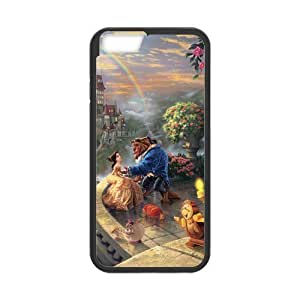 iPhone 6 Case,iPhone 6 (4.7) Case [Beauty and the Beast] Protective Cover Skin for iPhone 6,Beauty and the Beast Waterproof Case for Apple iPhone 6,Hard Case for iPhone 6 (4.7 inch)