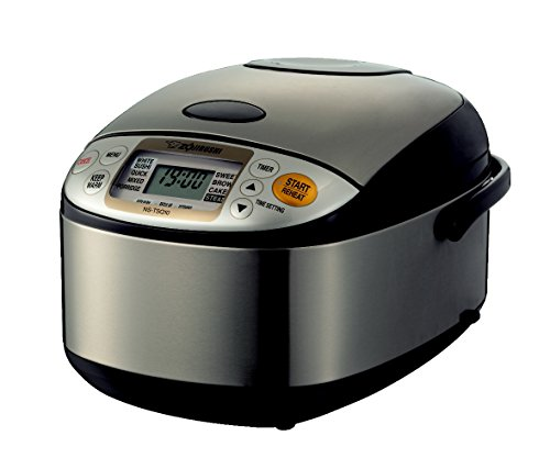 Zojirushi Rice Cooker NS-TSQ10 Stainless Steel Brown, 220-230V (Stainless...