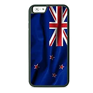 Case Fun Case Fun Flag of New Zealand Style 2 TPU Rubber Back Case Cover for Apple iPhone 6 4.7 inch