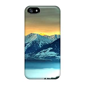 DaMMeke Fashion Protective Icy Mountains Case Cover For Iphone 5/5s