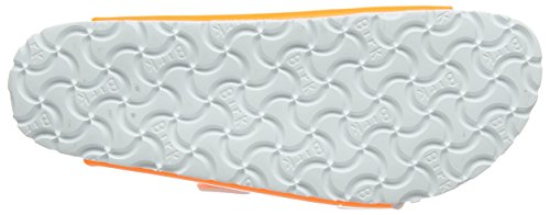 Birkenstock Arizona Birko-Flor - zuecos de material sintético mujer Naranja (Neon Orange)