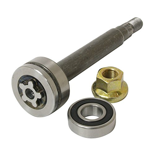 137646, 137645 Replacement Spindle Shaft Kit With Bearings. (Mower Lawn Shaft)