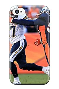 9405667K50764574 Tpu Case Cover For Iphone 4/4s Strong Protect Case - Von Miller Design