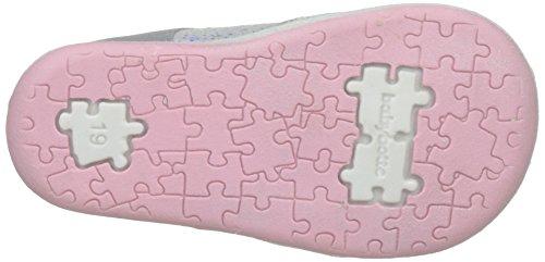 babybotte Papiyote - Zapatos de primeros pasos Bebé-Niños gris (gris/Rose)