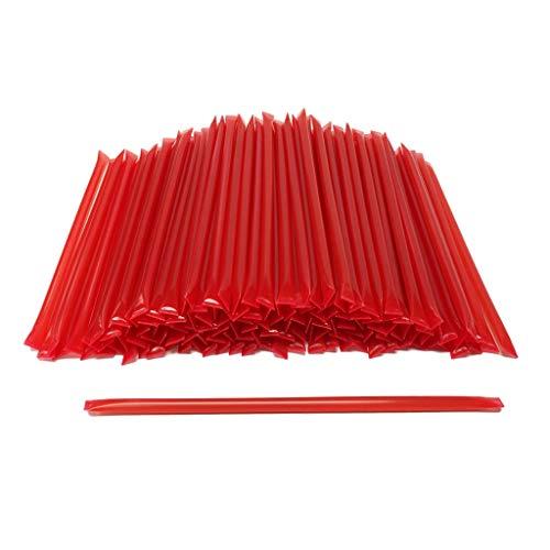 100 Count Honey Sticks (Natural Cinnamon) No Artificial Colors or Flavors, BPA Free Straws, 6.75