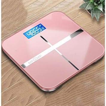 MINMINA Báscula de Salud en el hogar Báscula de Peso Recargable USB Báscula de Salud en el hogar precisa Báscula de pesaje para pérdida de Peso en Adultos, ...