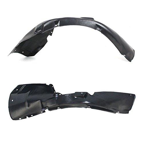 Koolzap For 98-01 VW Passat Front Splash Shield Inner Fender Liner Panel Left Right PAIR SET (Best Tyres For Vw Passat)