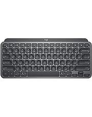 Logitech MX Keys Mini Minimalistisch, Draadloos Verlicht Toetsenbord, Compact, Bluetooth, USB-C, Compatibel met Apple macOS, iOS, Windows, Linux, Android, Metalen Constructie - Donkergrijs