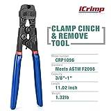 iCrimp Ratchet PEX Cinch Tool with Removing