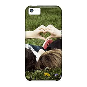 Excellent Design Sweet Love Girl Phone Case For Iphone 5c Premium Tpu Case