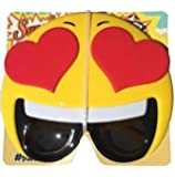 Hearts Emotion Costume Mask Sunglasses from Stop On Buy