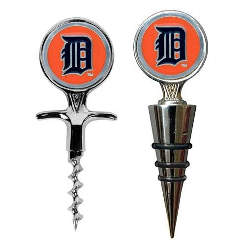 UPC 089006839623, MLB Detroit Tigers Cork Screw and Wine Bottle Topper Set