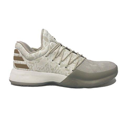 Adidas Harden Vol. 1 Handschoen Schoen Basketbal Van Mensen Wit-clear Brown-off White
