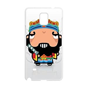 Samsung Galaxy Note 4 Cases Funny 08, Funny Cases Vety, {White}