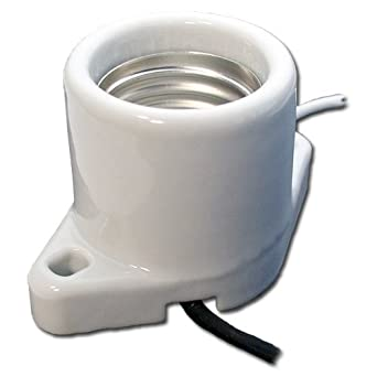 Amazing LH0422 Medium Base Porcelain Lampholder