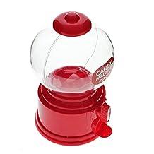 Kids Red Candy Machine Piggy Gumball Saving Coin box Retro Sweets Mini