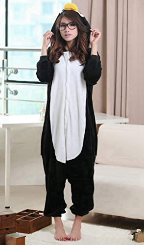 iNewbetter Halloween Costumes Sleepsuit Costume Cosplay Kigurumi Onesie Pajamas Zebra