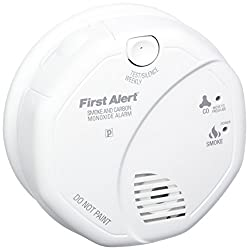 First Alert Sco5cn Combination Smoke & Carbon Monoxide Alarm, Battery Operated