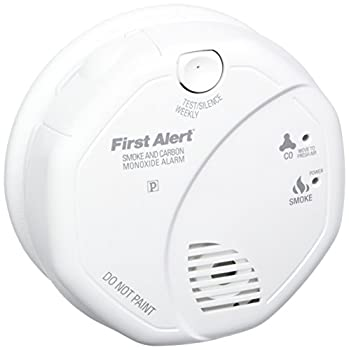 First Alert Sco5cn Combination Smoke & Carbon Monoxide Alarm, Battery Operated 0