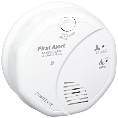 First Alert SCO5CN Combination Smoke and Carbon Monoxide Alarm, Battery (Dual Powered Smoke Alarm)