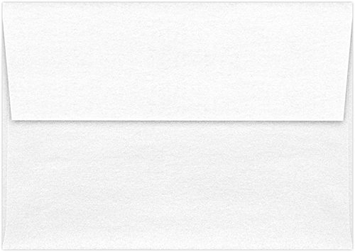 A1 Invitation Envelopes w/Peel & Press (3 5/8 x 5 1/8) - Crystal Metallic (50 Qty) | Perfect for RSVP Cards, Invitations, Announcements and Notes | 5365-30-50