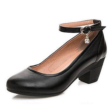 Gros Printemps LvYuan à 12 Amande ggx almond Cuir Chaussures Talon formelles cm amp; Chaussures Automne Noir Talons Femme Chaussures plus formelles 8x7qwtxa