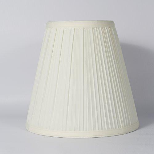 Urbanest 1101555 Eggshell Mushroom Pleated Hardback Lamp Shade 5x9x8.5