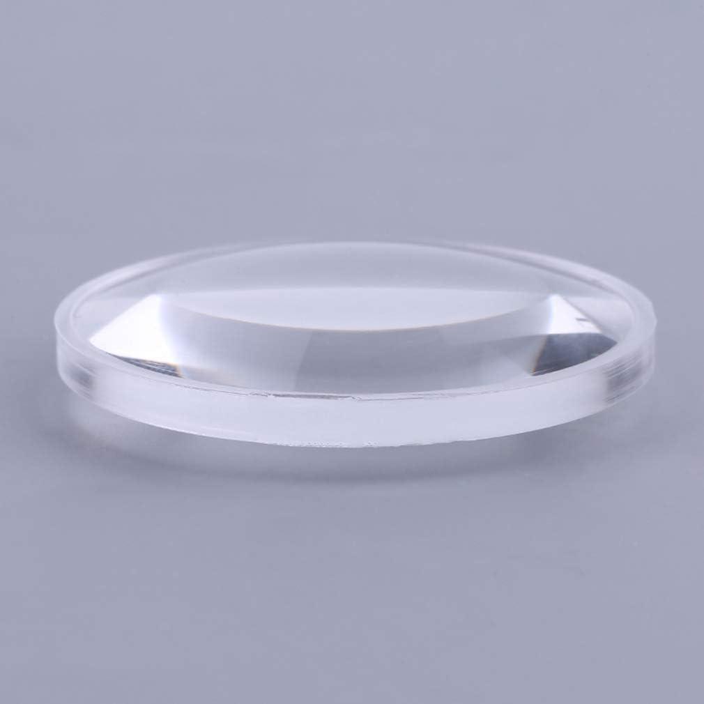 NiceButy Lente convexa de 37 mm de di/ámetro y 45 mm de longitud focal de realidad virtual Biconvex Lens