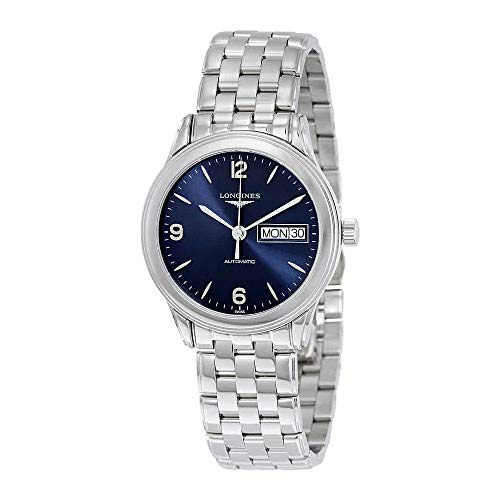 Longines Flagship Blue Dial Stainless Steel Men's Watch L47994966 - Longines Stainless Steel Wrist Watch