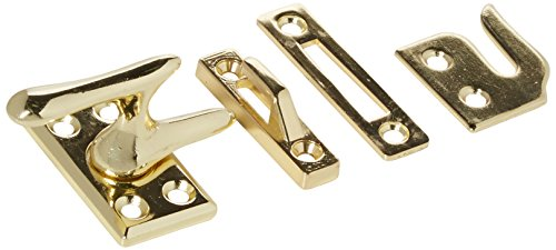 Belwith Products 1432 Polished Brass Casement Wind Lock - Polished Brass Casement Fastener
