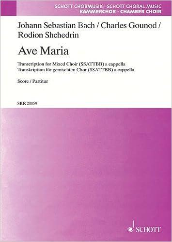 Book Ave Maria: SSATTBB a cappella