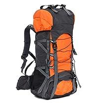 iSi 60L Huge Ultralight Outdoor Backpack - Dark Blue