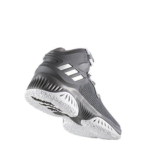 adidas Unisex-Kinder Explosive Bounce J Fitnessschuhe Grau (Gricua / Plamet / Gricin)