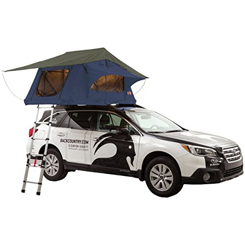 Tepui Ayer SKY Roof Top Tent: 2-Person, 4-season, Blue -  01AYR021606