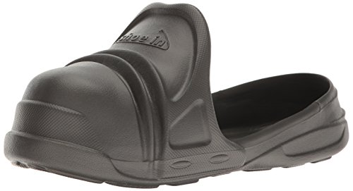 Shoe In Charcoal Closed Toe Over Shoe, Charcoal, 9-10 M US