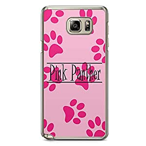 Loud Universe Pink Panther Paws Samsung Note 5 Case Pink Panther Pattern Samsung Note 5 Cover with Transparent Edges
