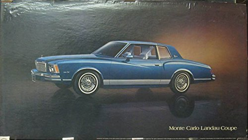 Amazon com: 1978 Chevrolet Monte Carlo Landau Showroom