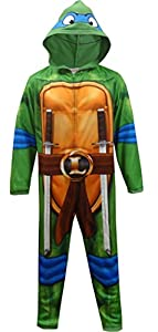 Teenage Mutant Ninja Turtle Leonardo One Piece Pajama for men