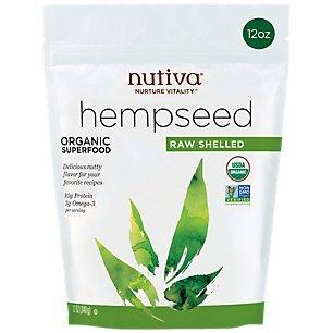 Nutiva, Hempseed Organic, 12 Ounce