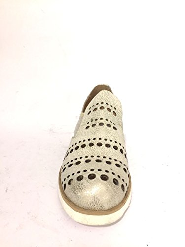 Bianco Shoes Mn1818 On Elastico Zeta Mocassini Slip 83 Mainapps Pelle Traforati BTnxvO