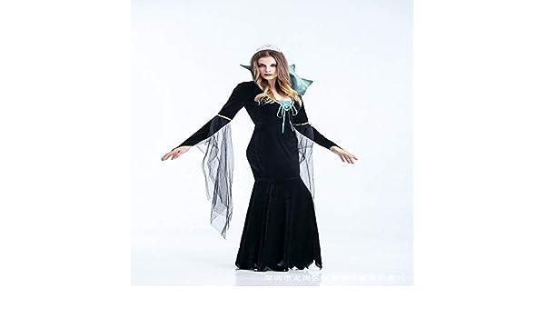 zlhcich Disfraz de Halloween Fantasma Femenino bebé Fantasma Novia ...