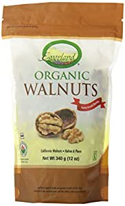 Everland Organic Walnuts, 340gm