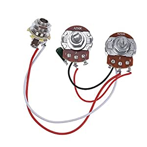 bass wiring harness prewired kit for precision. Black Bedroom Furniture Sets. Home Design Ideas