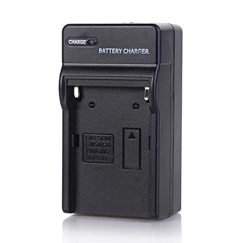 NP-FM30 NP-FM50 Camera Battery Charger Compatible Sony NP-FM55H NP-FM70 NP-FM90 NP-F330 NP-F500H NP-F550 F530 F570 F750 F960 FF970 F770 Mavica FD-88 MVC FD-100 FD-200 NP-570 DCR-TRV17 - Mavica Sony Battery