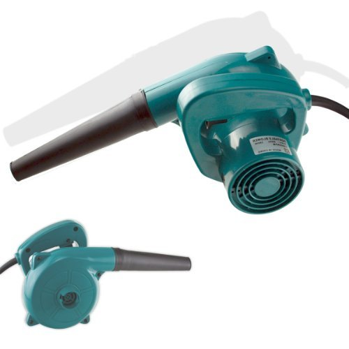 Compact High-Speed Hand Held Electric Blower - 200 MPH Air Blast - Vacuum Kit