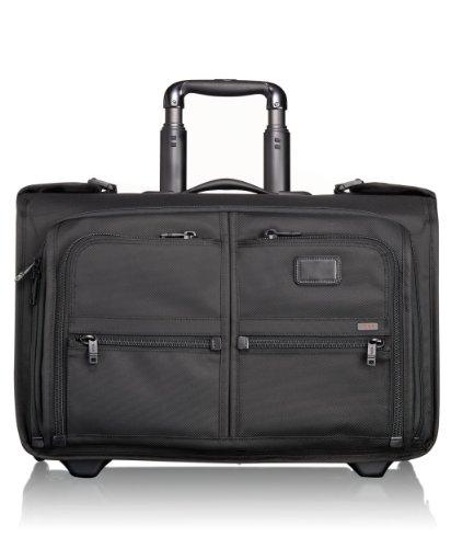 Tumi Luggage Alpha Wheeled Carry-On Garment Bag, Black, Medium by Tumi