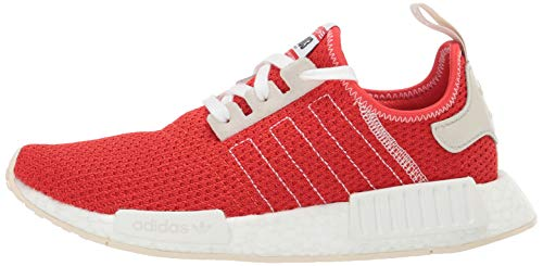 adidas Originals Men's NMD_R1 Running Shoe, Active red/Ecru Tint, 4.5 M US by adidas Originals (Image #5)